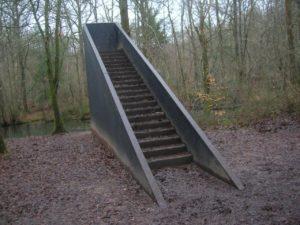 trappor i skogen